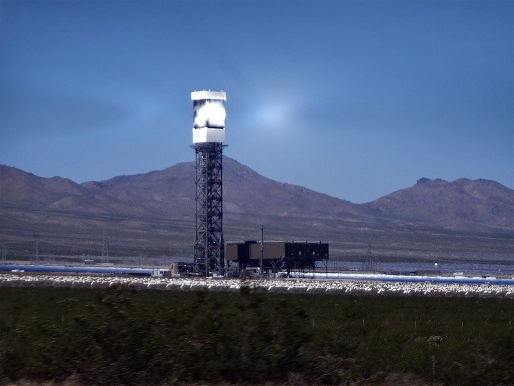 Ivanpah Solar Facility, California.